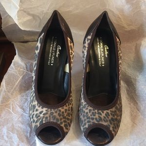 Donald Pliner NEW Animal Print Shoes  Size 7 1/2